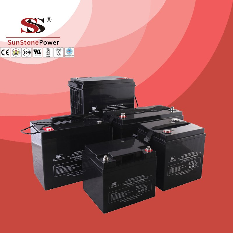 Solar Battery Deep Cycle Battery 6v 110ah AGM Lead Acid Battery