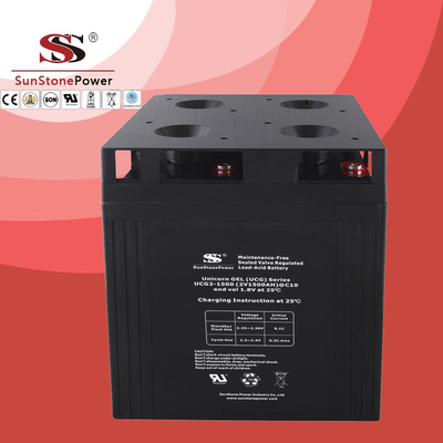 UCG series 2V 1500AH Solar GEL battery Deep cycle battery Solar Control system Battery