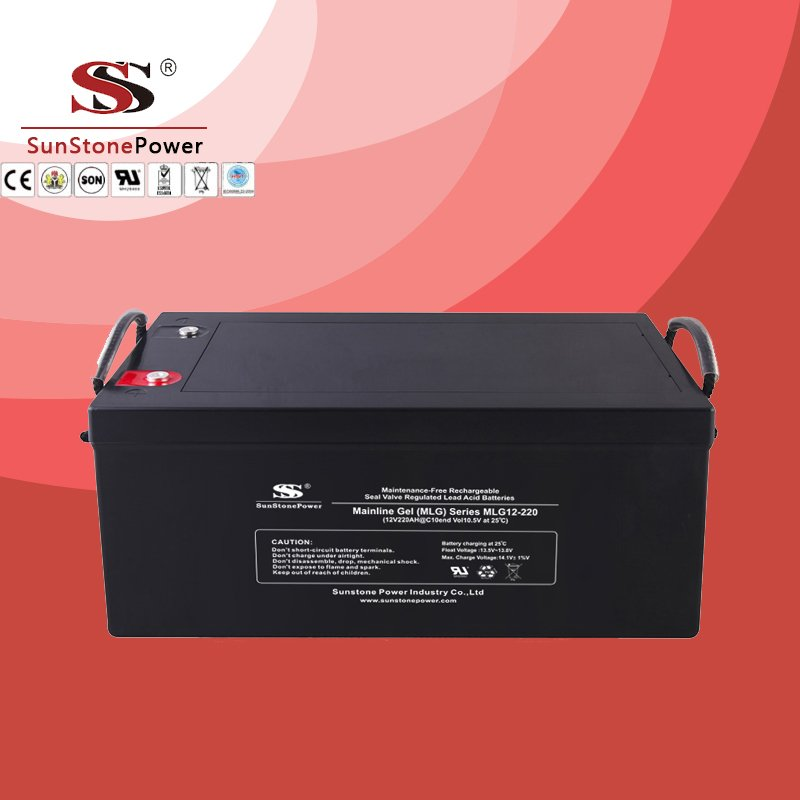 Deep Cycle 12V 220AH Gel Lead Acid Solar Battery