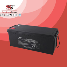 Solar Battery Deep Cycle Battery 12v 190ah AGM Lead Acid Battery