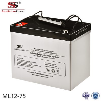 Sunstone Power 12V 75AH High Quality Computer Backup Power Battery