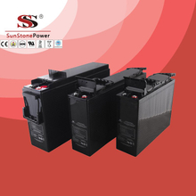 Hot sell VGG Series Front access GEL Deep cycle battery rechargeable lead acid battery Telecommunication battery