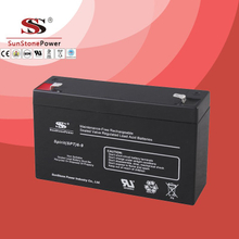 SPT Series 6V9AH Sealed Maintenance Free VRLA/SLA AGM Battery for UPS