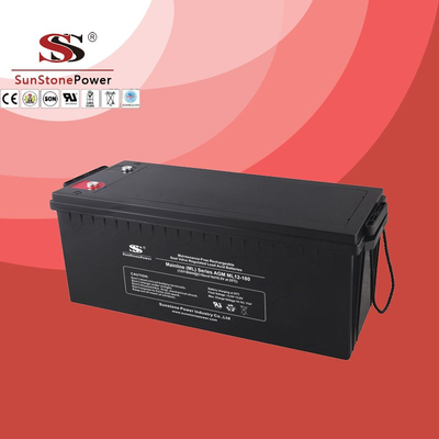 Solar Battery Deep Cycle Battery 12v 180ah AGM Lead Acid Battery