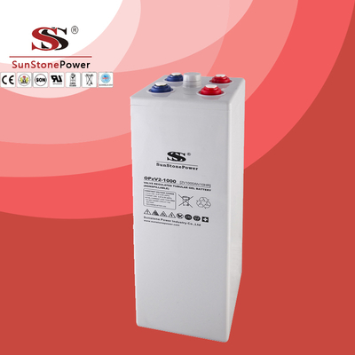 OPzV Battery 2V1000ah Long Life Deep Cycle Tubular Gel Solar Battery