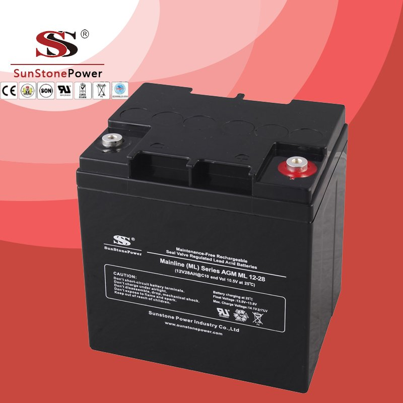 Solar Battery Deep Cycle Battery 12v 28ah AGM Lead Acid Battery