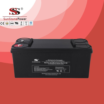 Deep Cycle 12V 160AH Gel Lead Acid Solar Battery