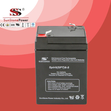 SPT Series 6V5AH Sealed Maintenance Free VRLA/SLA AGM Battery for UPS