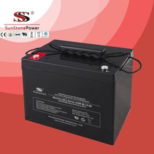 Solar Battery Deep Cycle Battery 12v 80ah AGM Lead Acid Battery