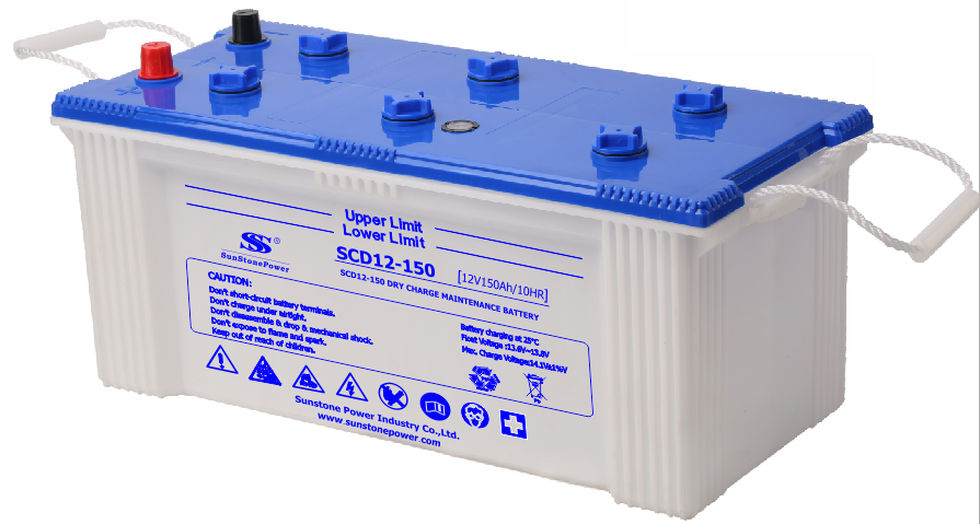 JIS Standard Dry Charged Car Battery SCD 12V 150AH